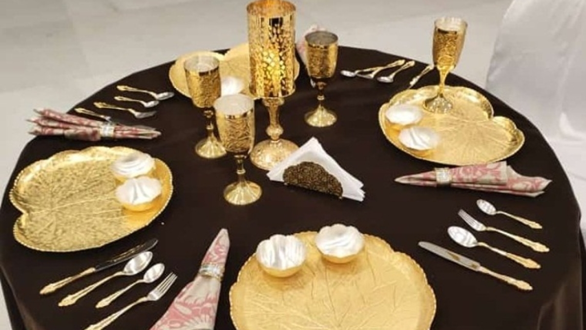 Jaipur firm, which made cutlery for Obama, designs exclusive gold and silver tableware for Donald Trump