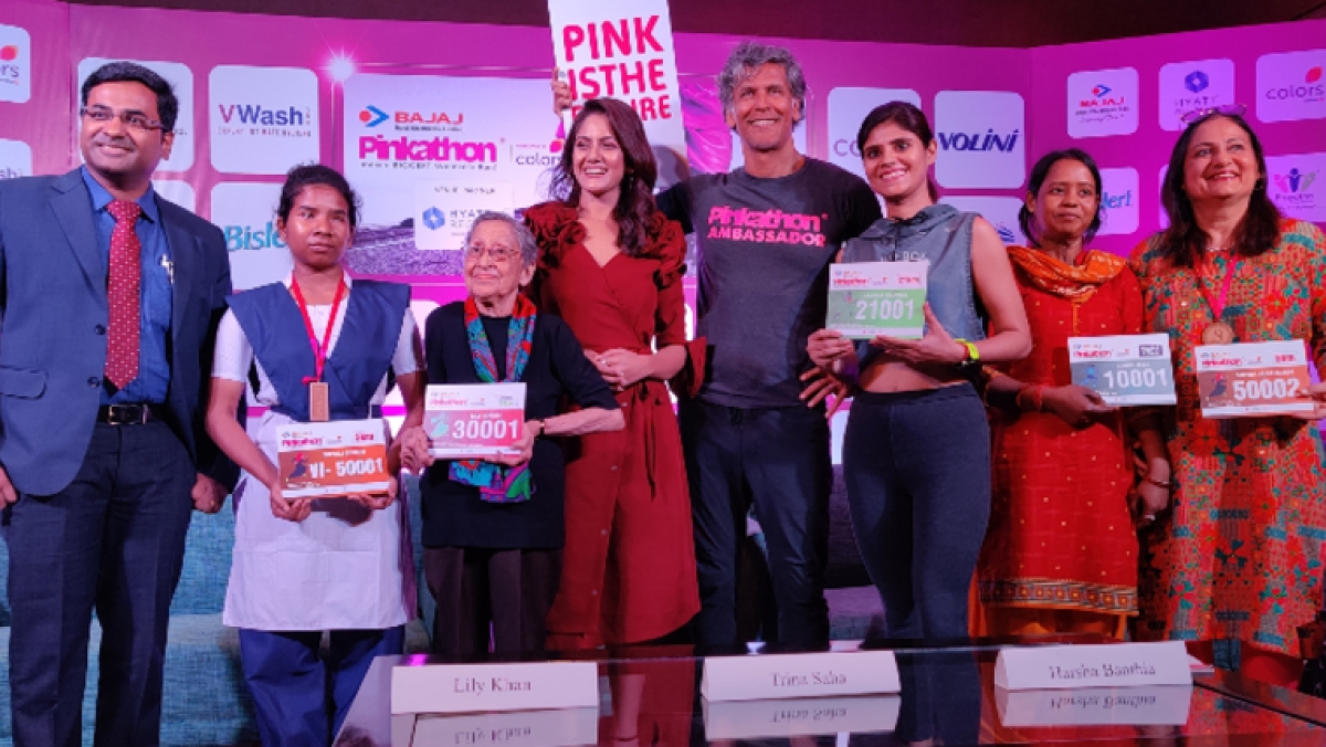 What's your excuse? Acid attack victim to run 10 km run in Milind Soman's Kolkata Pinkathon