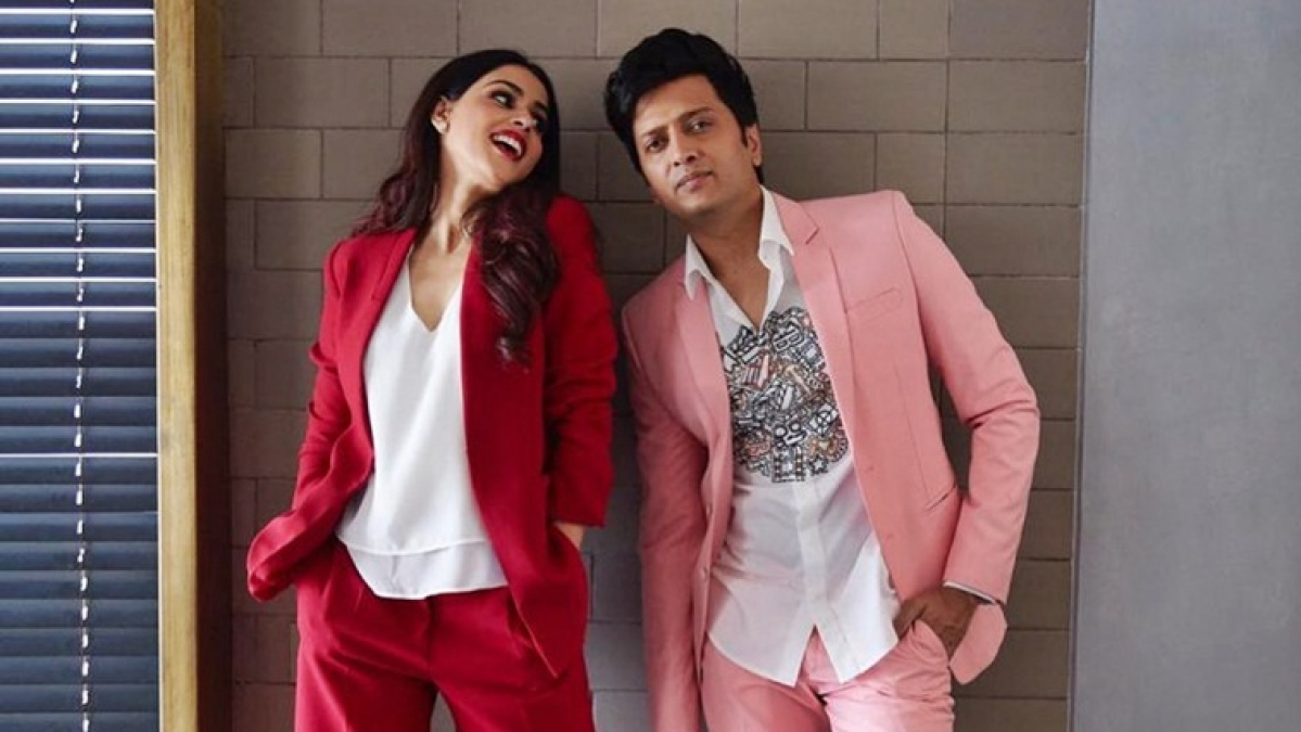 Genelia shares adorable video to wish Riteish on wedding anniversary
