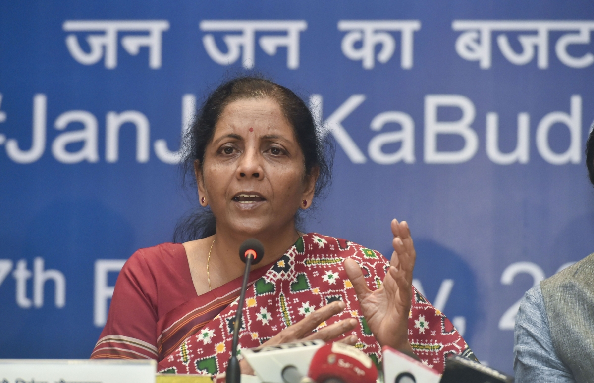 Finance Ministry working on FRDI bill, says Sitharaman