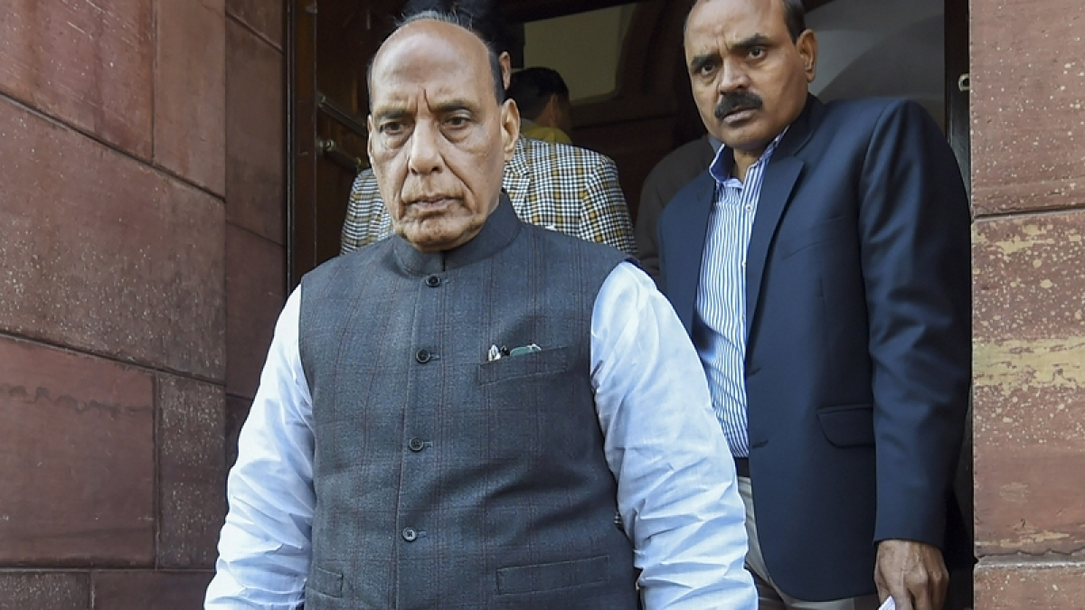 I pray for early release of Abdullahs and Mehbooba Mufti from detention: Rajnath Singh