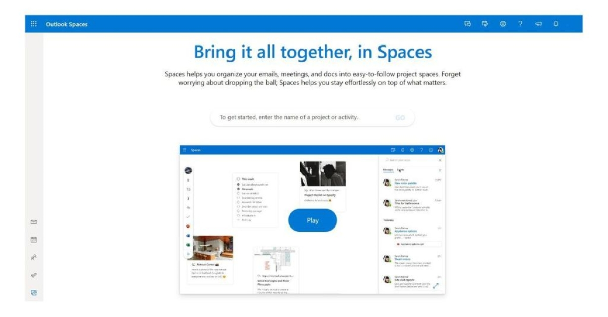 Microsoft working on new Outlook feature called Spaces