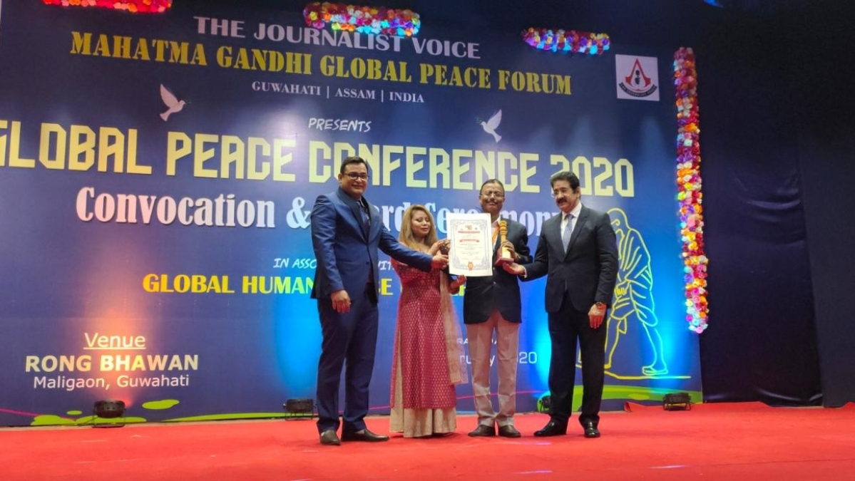 NF Rly PRO bags Dr. APJ Abdul Kalam Excellence Award