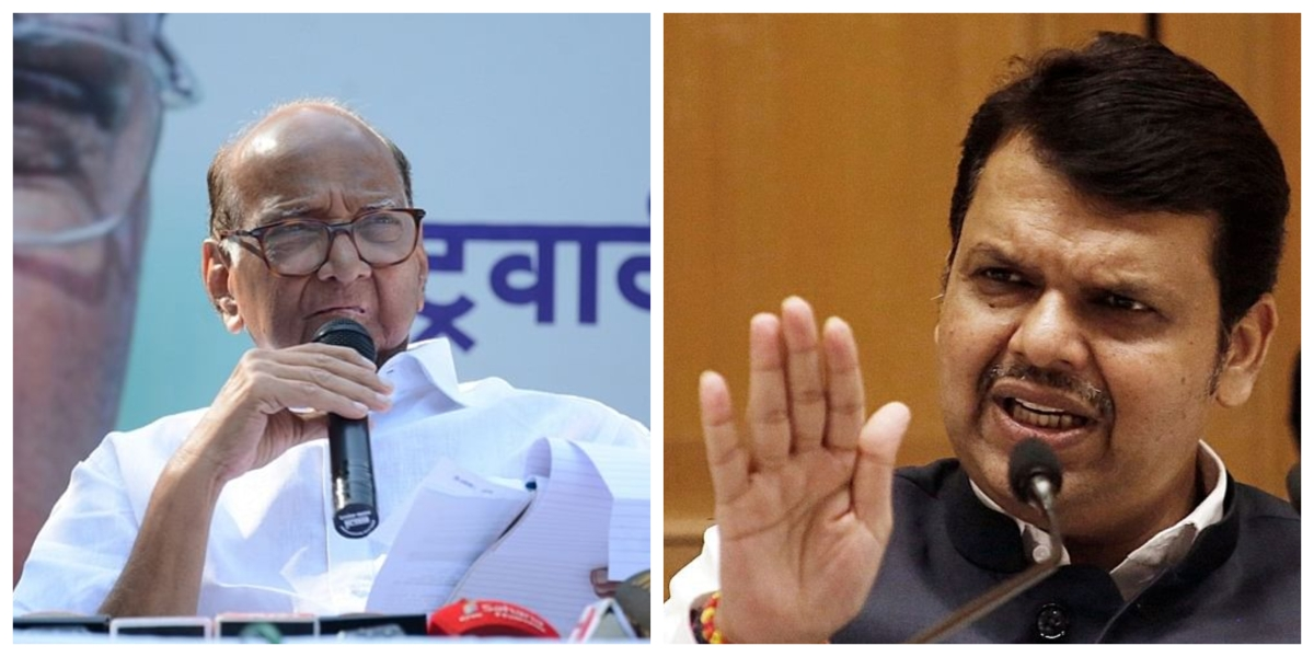 Pawar trying to implicate 'Hindutvawadis' in Bhima Koregaon case: Devendra Fadnavis