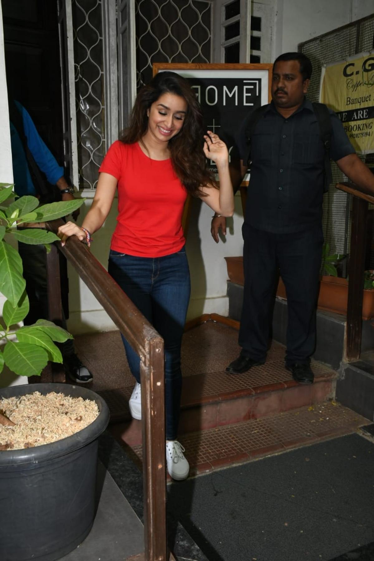 Shraddha Kapoor at Krome Studios, Mumbai