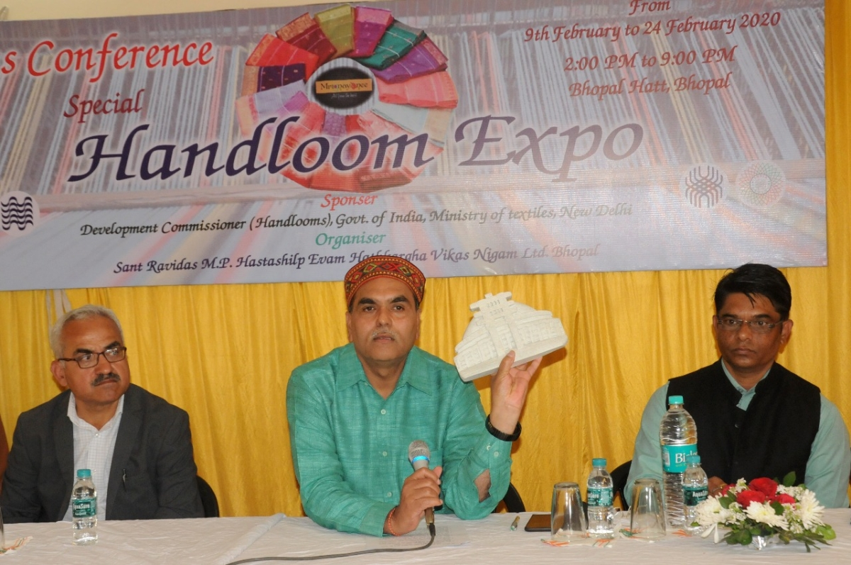 Bhopal Haat to host 'Special Handloom Expo' from Feb 9