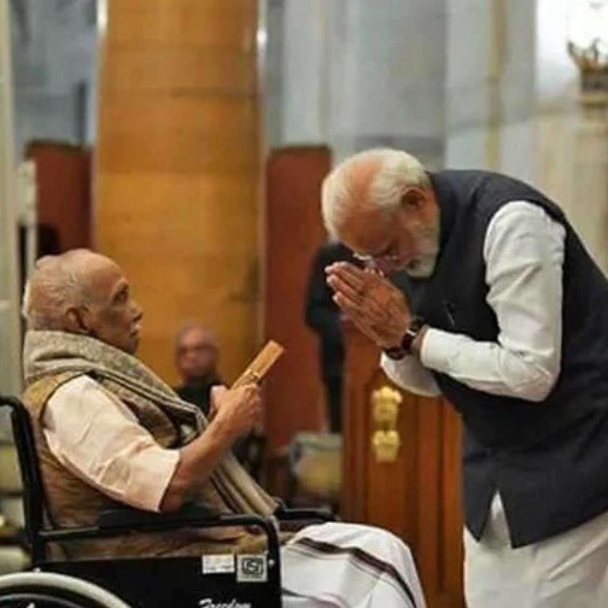 'Deeply saddened': Vice President Naidu, PM Modi condole death of RSS veteran Parameswaran