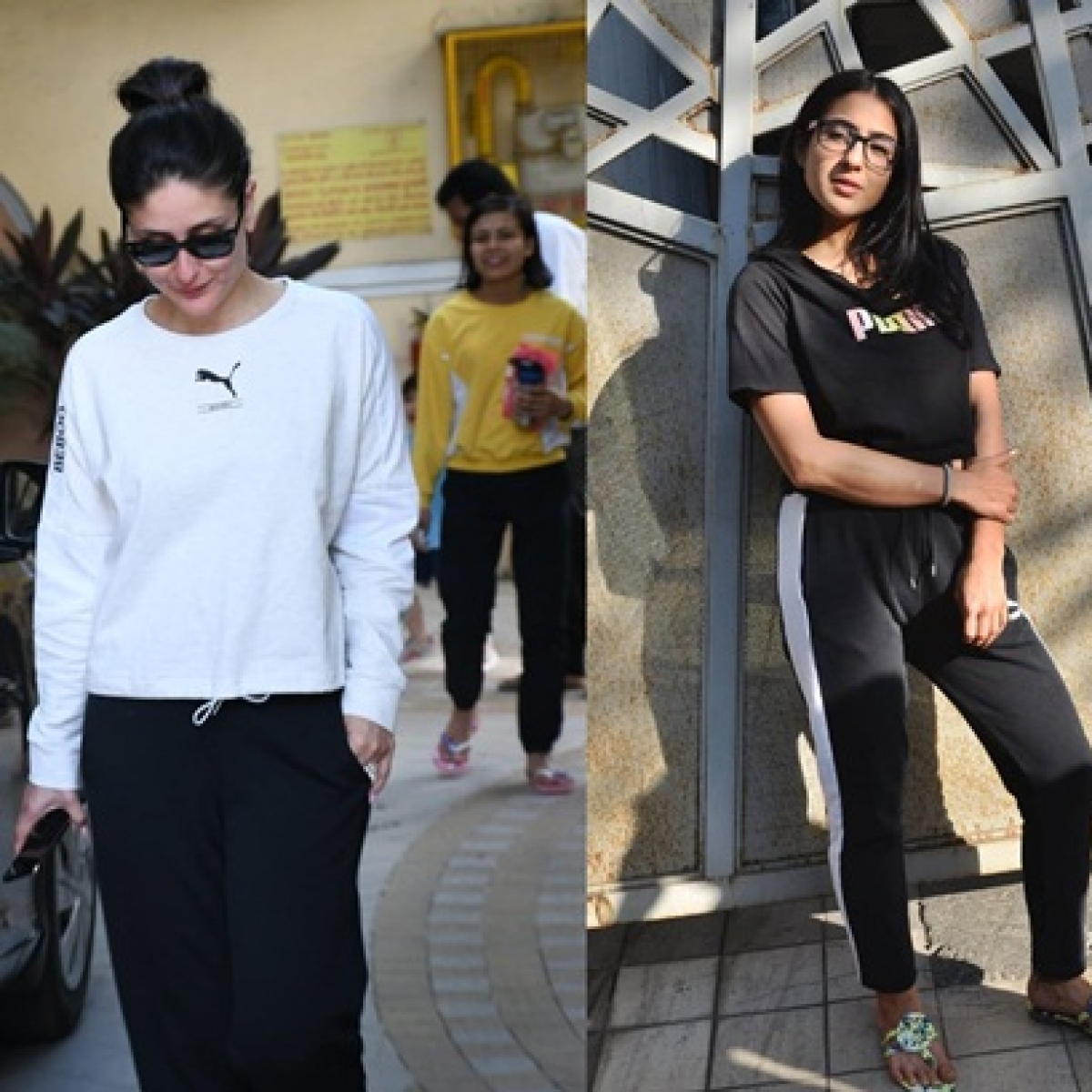 Celebrity spottings: Kareena Kapoor, Sara Ali Khan, Varun Dhawan and others captured by shutterbugs