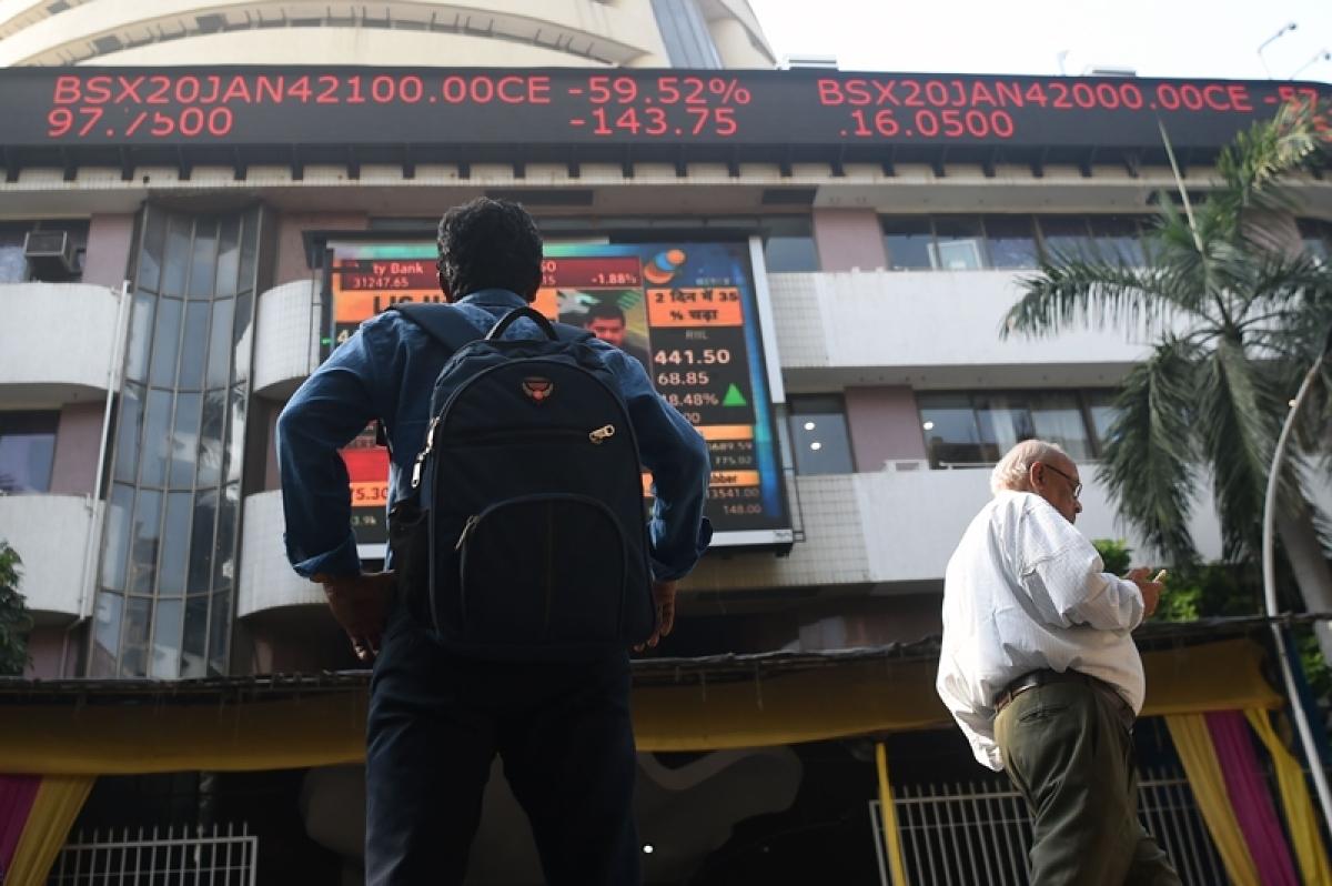 Market benchmark Sensex falls 65 points in morning session