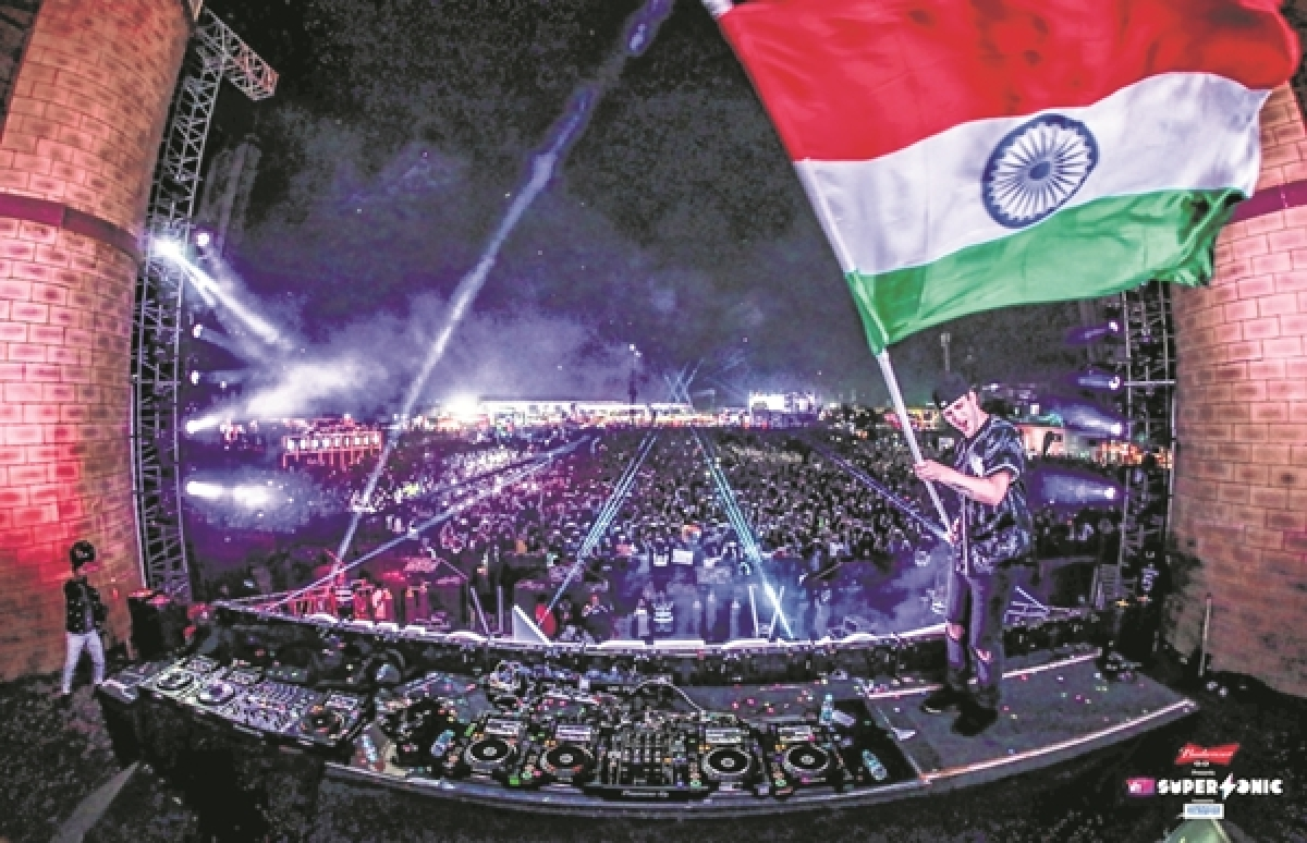 'Where can you find Tamilian-Canadian rapper singing?': Indian musicians go live at Pune's Super Street Flea market