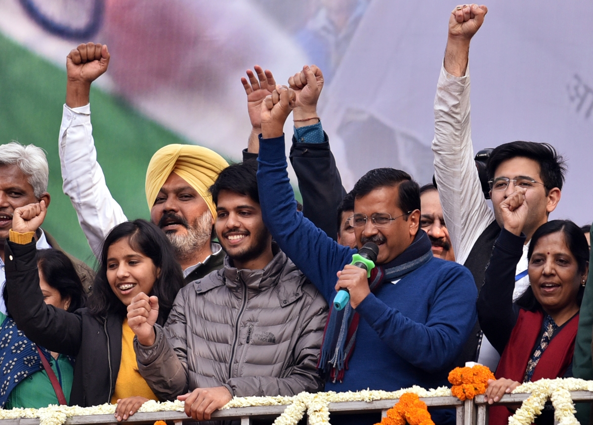 Delhi Election Results 2020: Complete list of winners