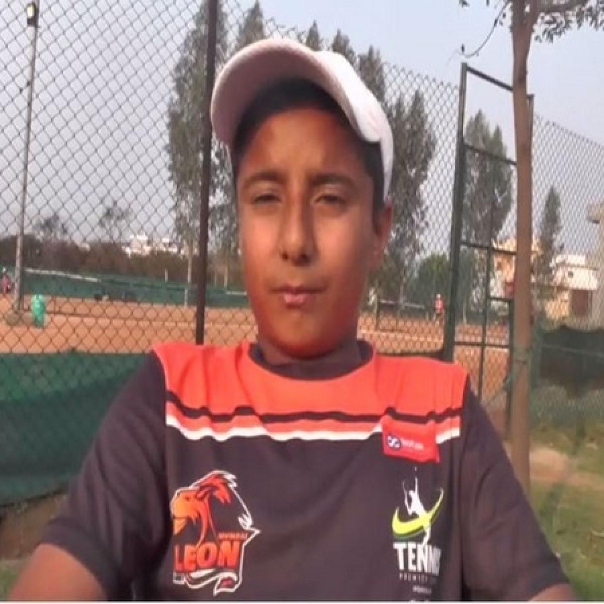 13-year-old Vansh Nandal selected for World Junior Tennis Championships