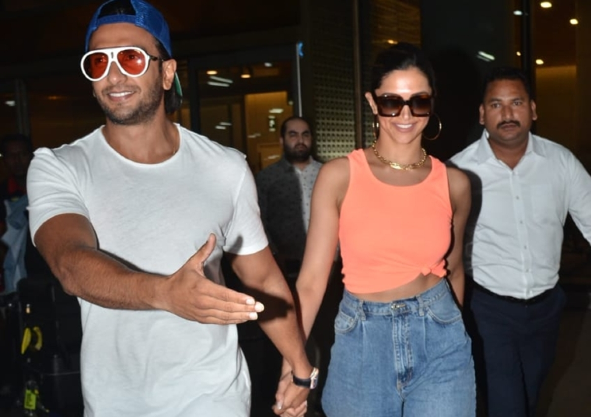 B-town's 'IT' couple Deepika and Ranveer return from vacay to celebrate Valentine's Day at home