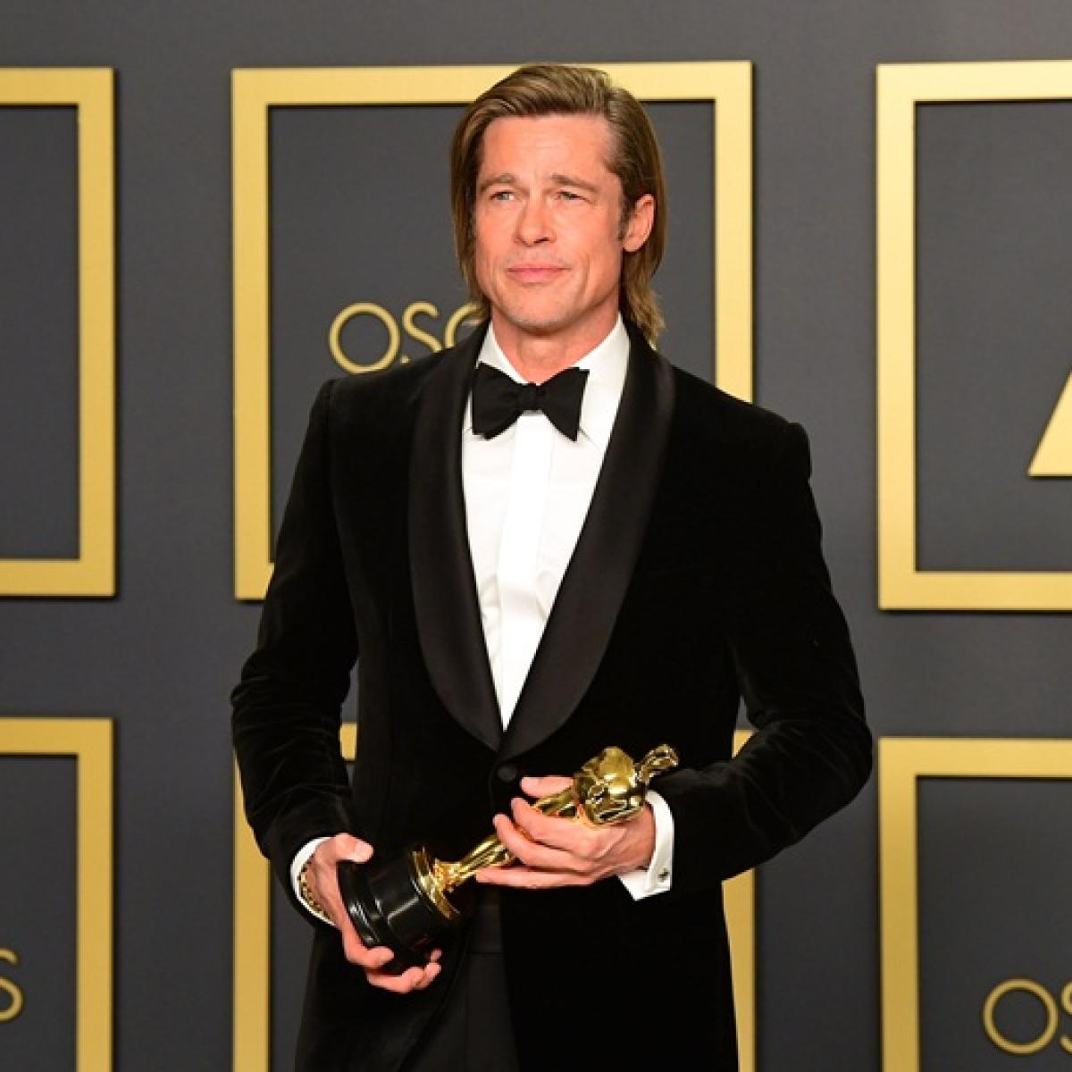 After 33 years, Brad Pitt wins maiden acting Oscar