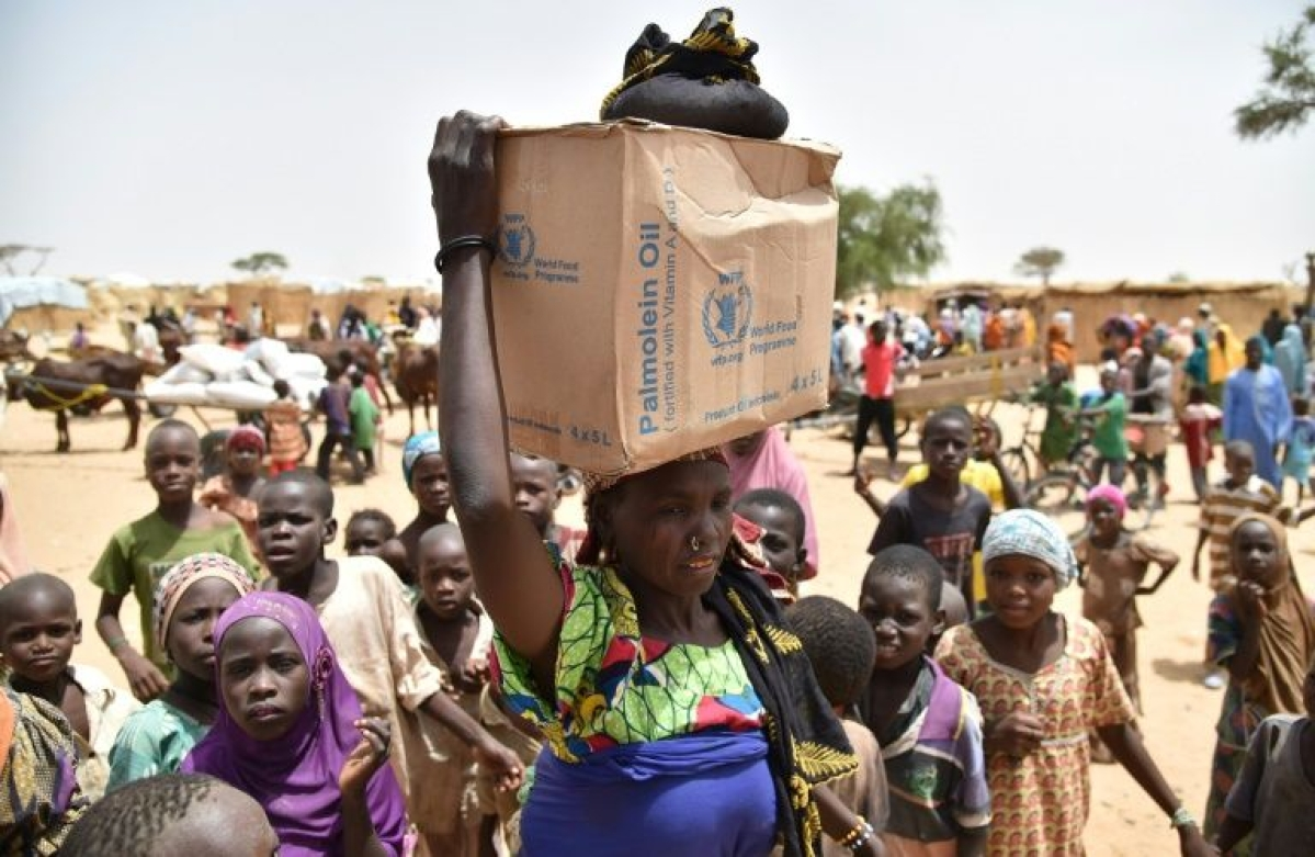 Hundreds of thousands of people in Diffa, southeastern Niger, depend on food handouts to survive.
