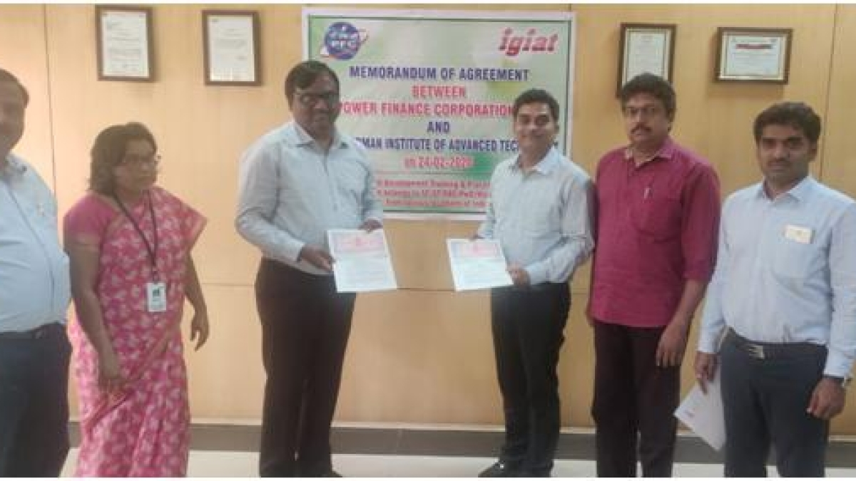 PFC signs MoA for skill development training to 500 unemployed youth