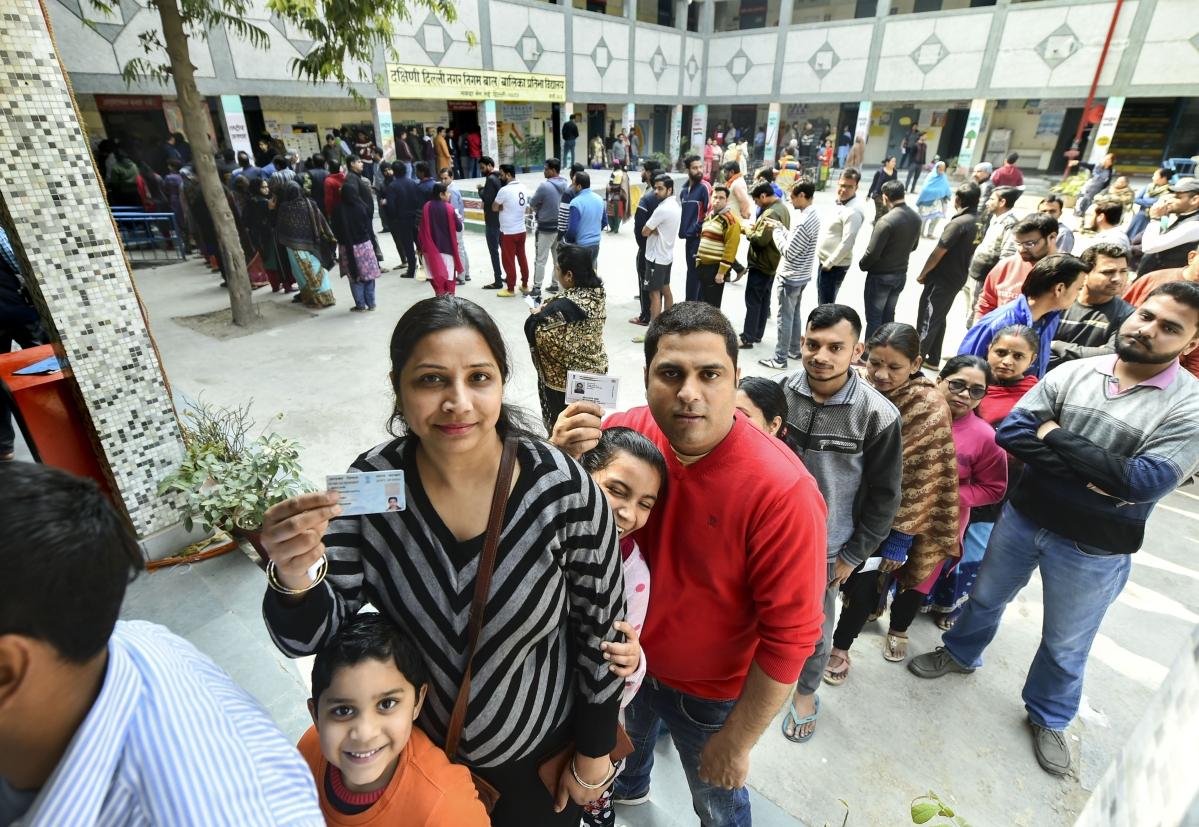 Delhi elections 2020 Updates: Exit polls predict comfortable majority for AAP