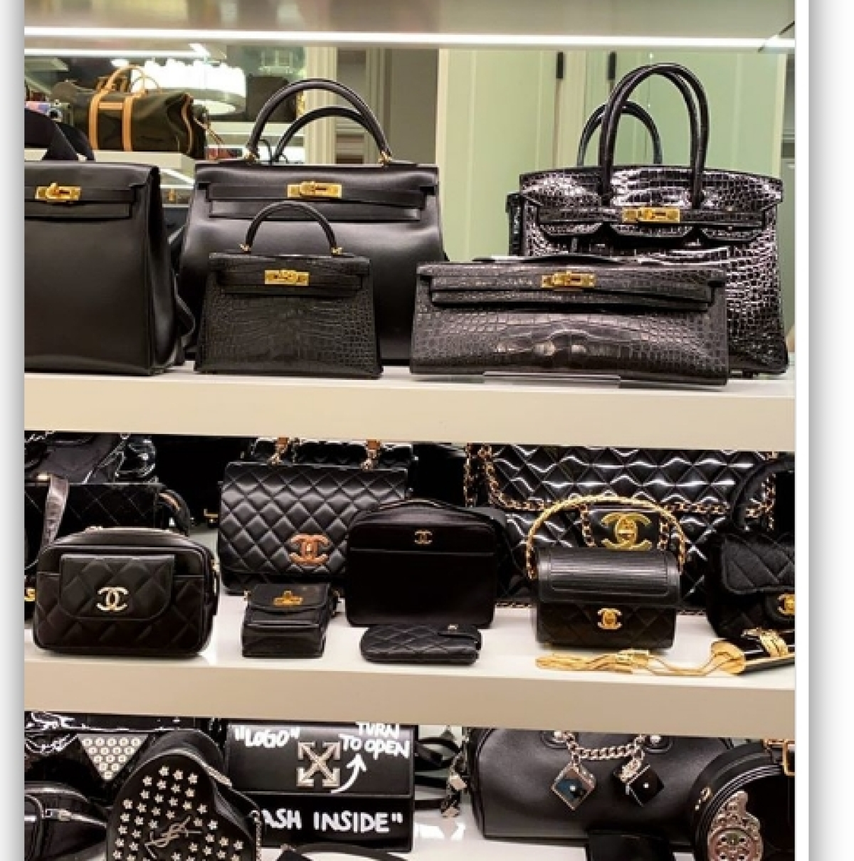 Kylie Jenner gives a glimpse of her lavish purse collections featuring rare Hermes handbags