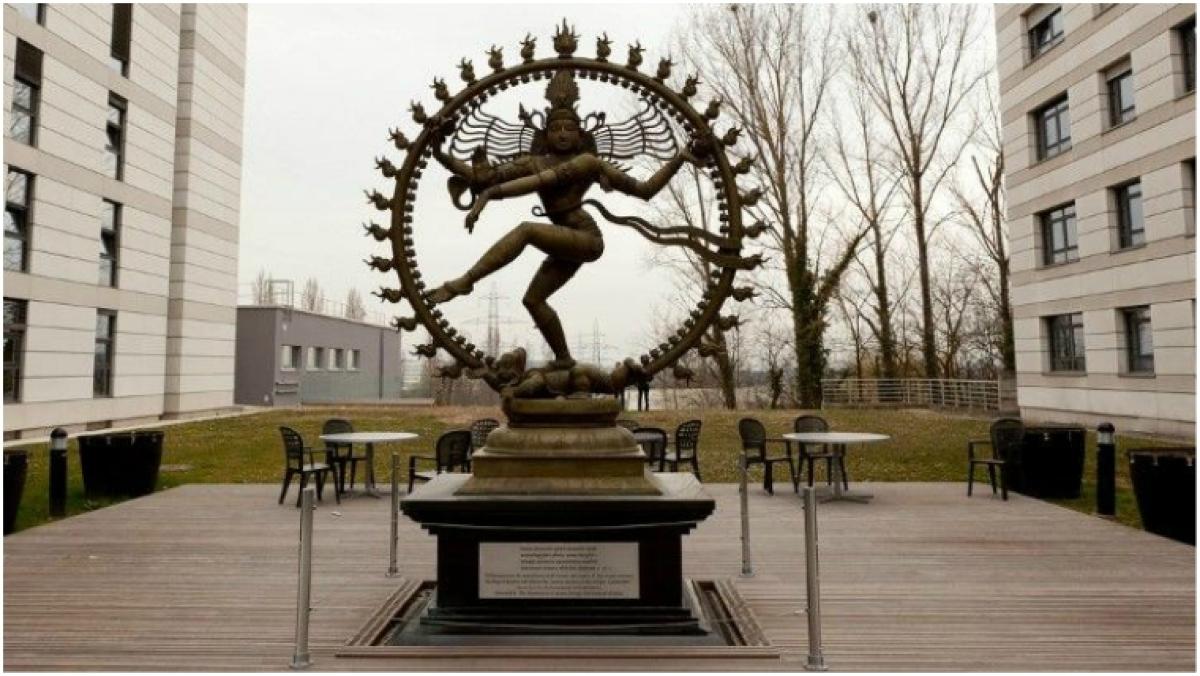The Shiva Nataraj statue in CERN