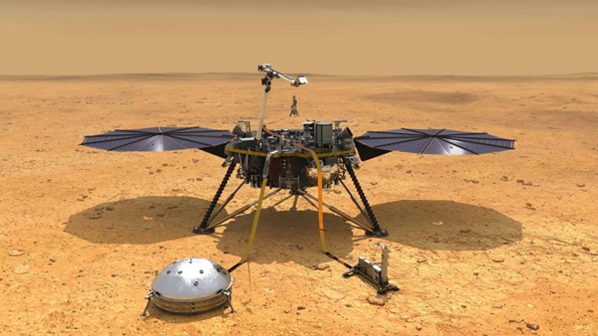NASA's InSight lander reveals secrets about Martian weather