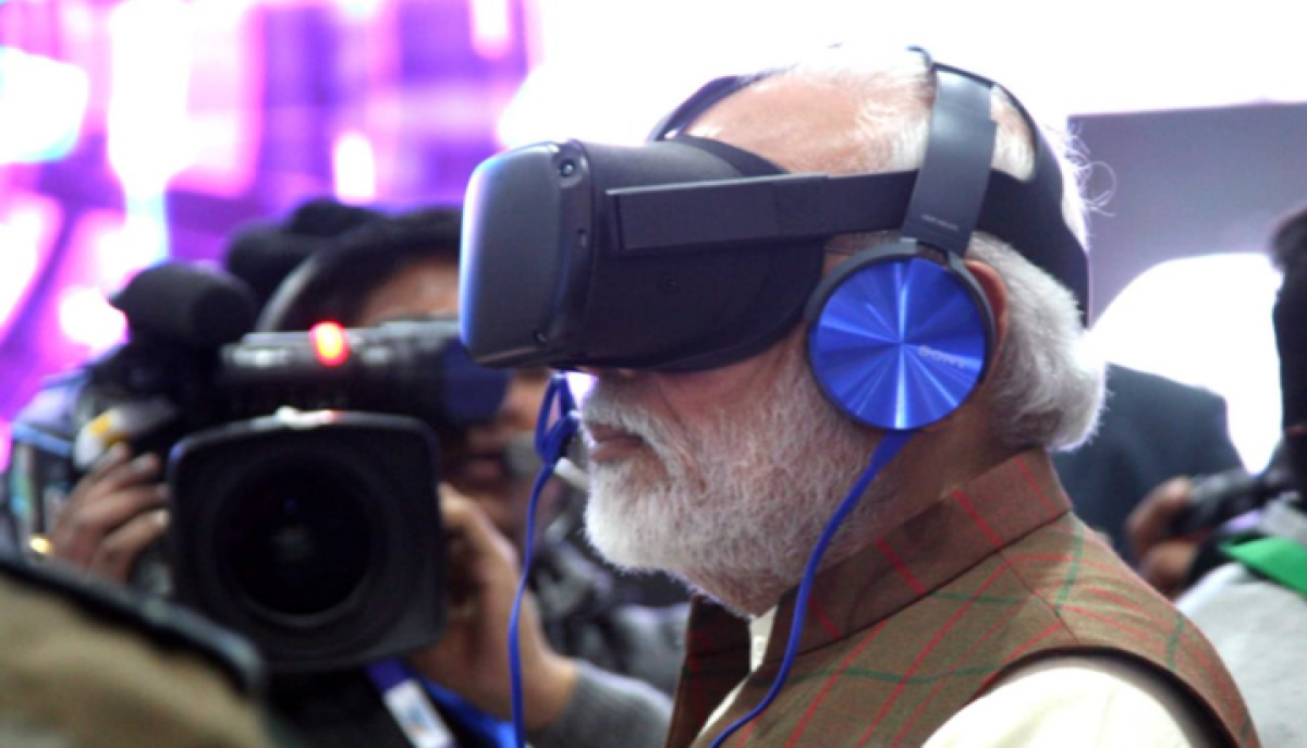 PM Modi at the Defence Expo 2020