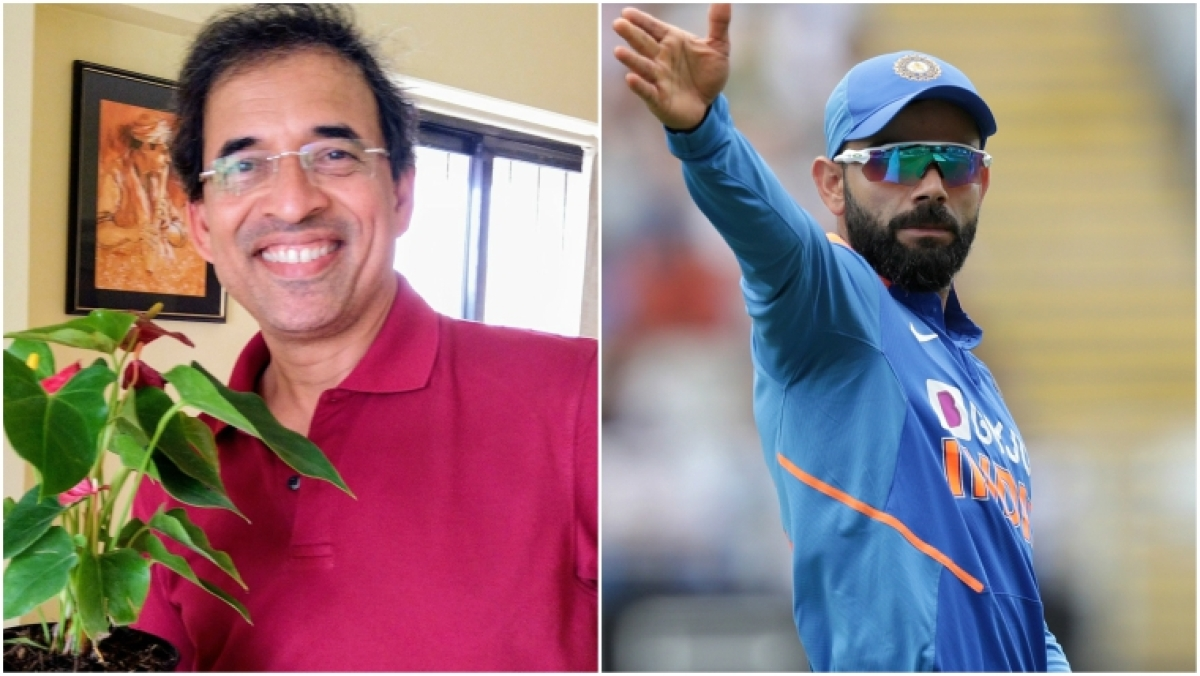 'How can someone be good at it?' Harsha Bhogle to Twitter user who called Virat Kohli 's**t with tosses'