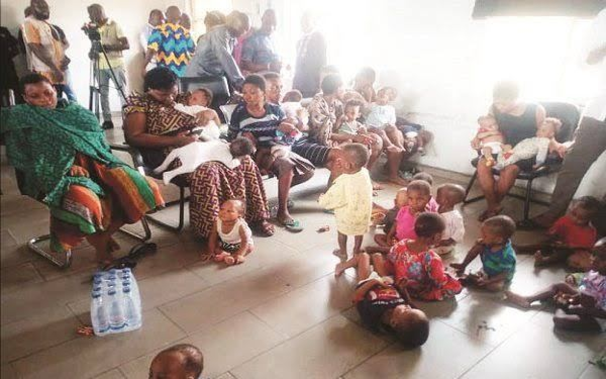 24 babies freed from Nigeria 'baby factory'