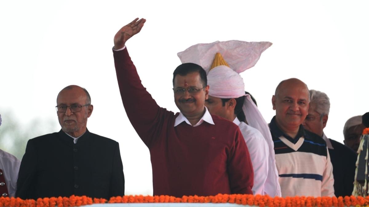 Delhi CM Arvind Kejriwal is looking at national canvas, now