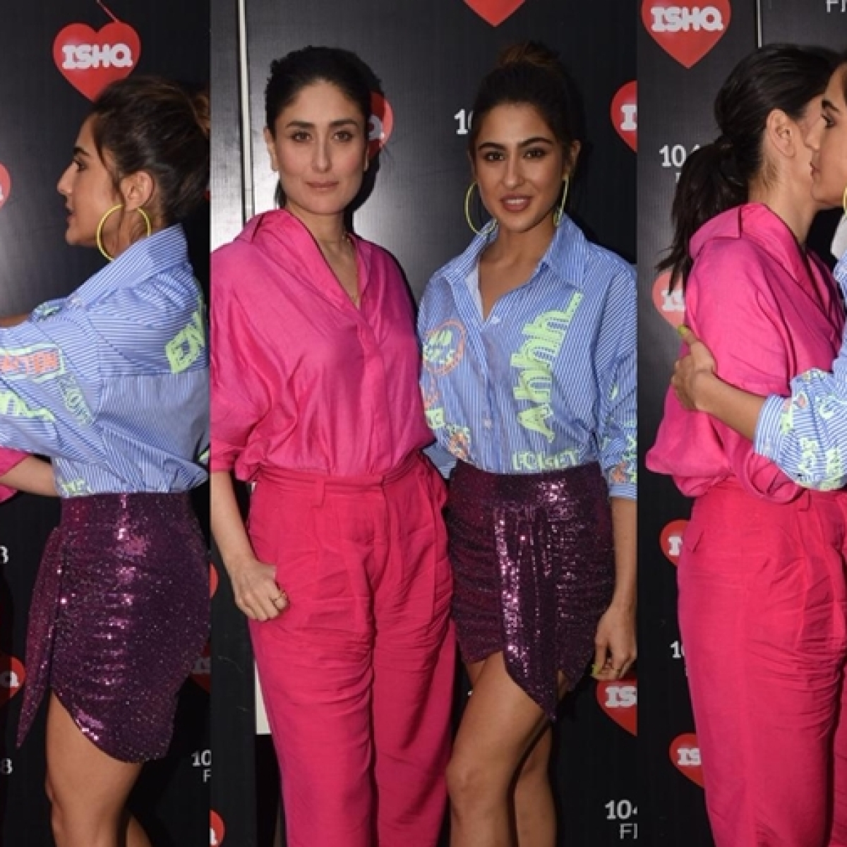 Netizens laud Amrita Singh's 'upbringing' after Sara Ali Khan hugs Kareena Kapoor