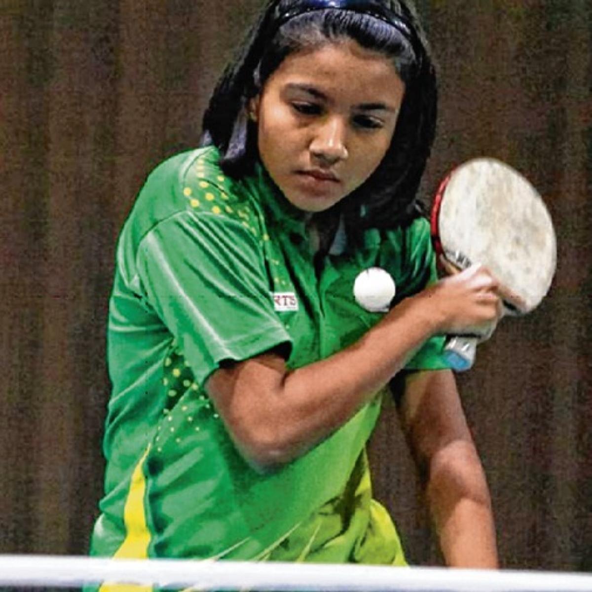 CCI Juniors Table Tennis Tournament: Sana D'Souza, Hardee Patel in summit clash