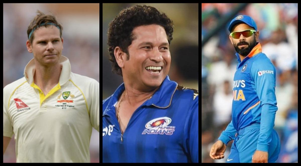 'Joy to watch': Sachin Tendulkar praises Steve Smith and Virat Kohli