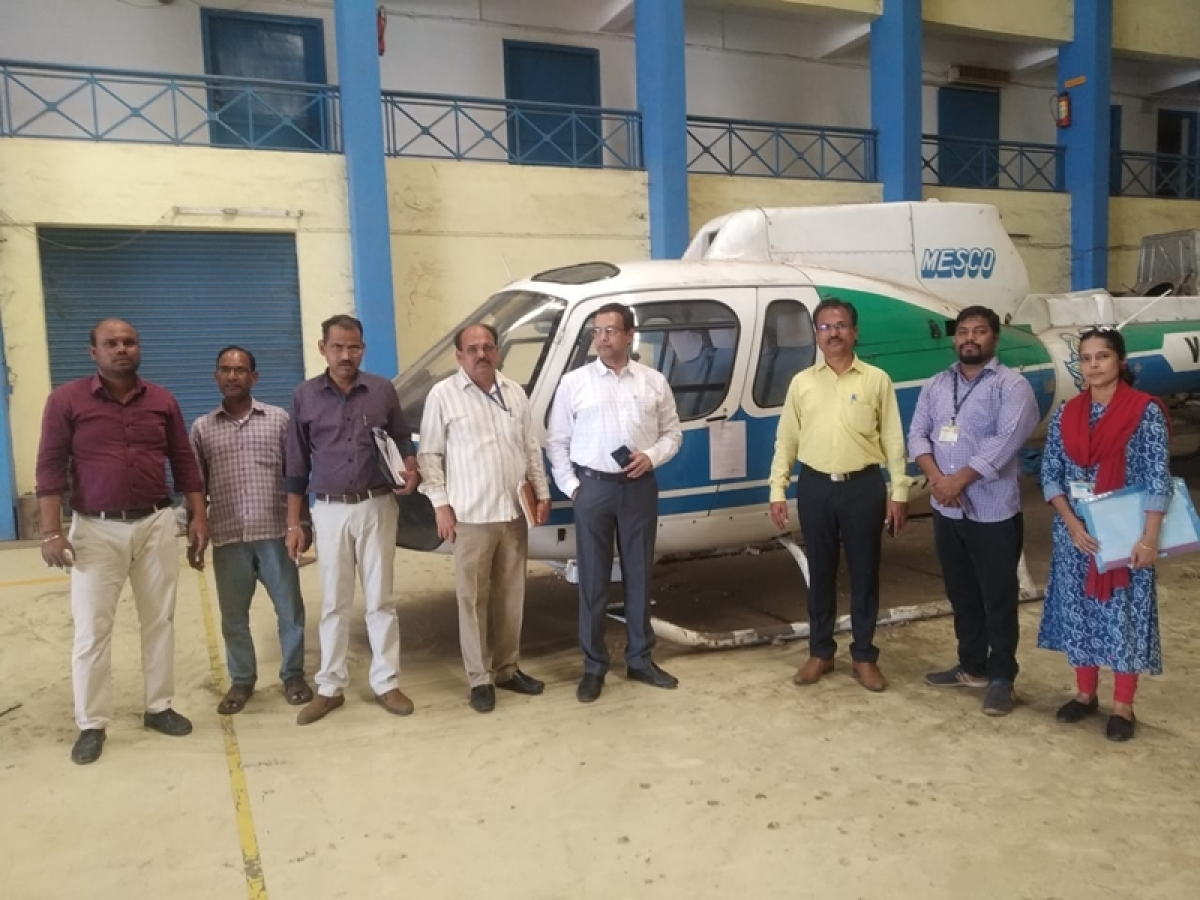 In a first, BMC seizes 2 helicopters of MESCO Airline for non-payment of property tax dues of over Rs 16 crore