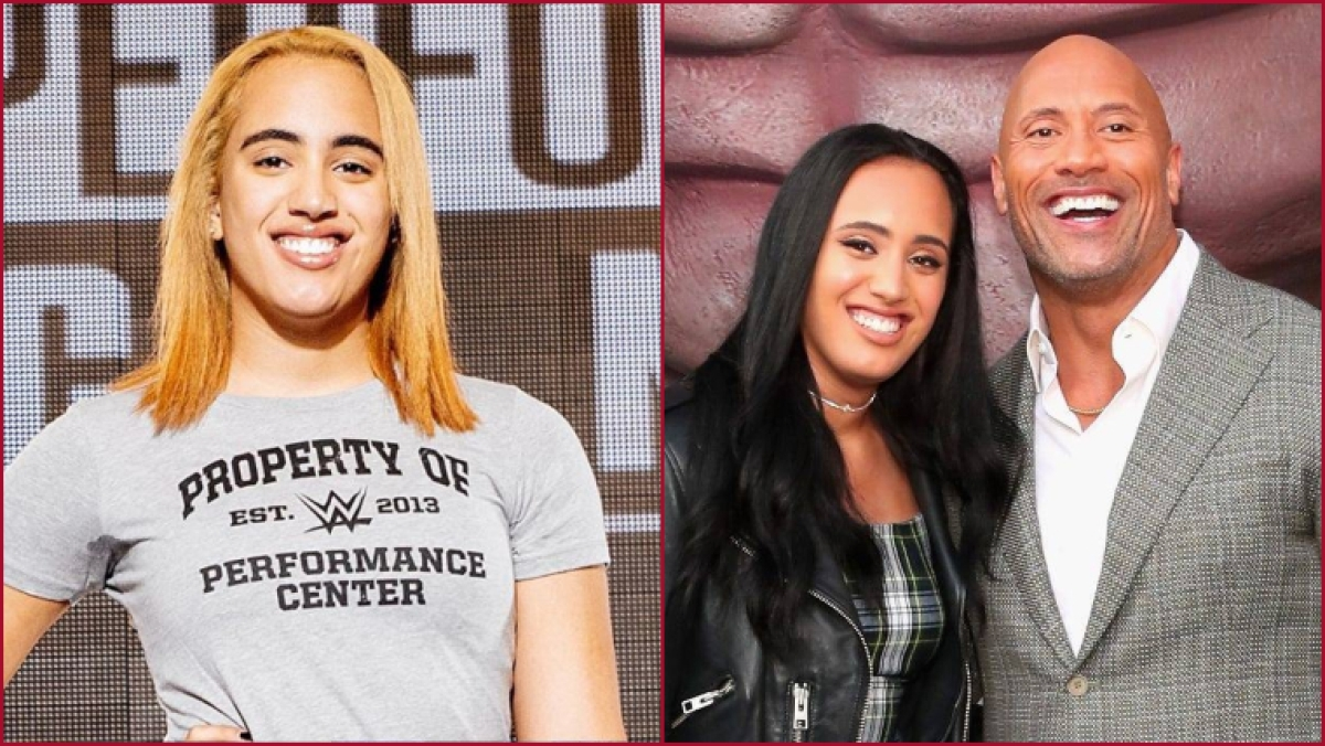 Another electrifying era? The Rock's daughter Simone Johnson preps for WWE