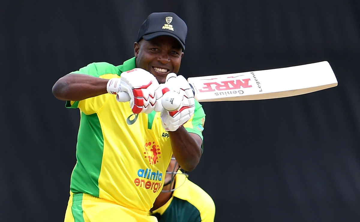 Watch: Legend Brian Lara winds back the clock with a cover drive