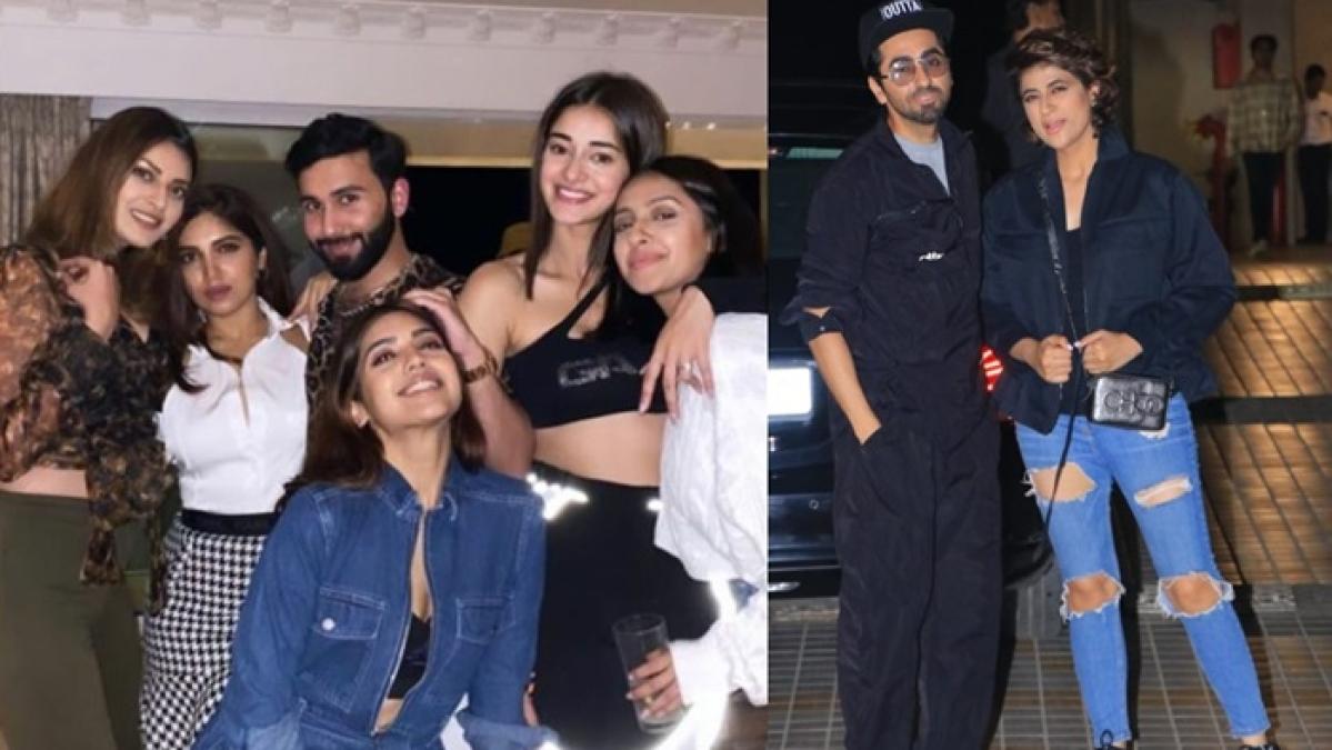 Actress Bhumi Pednekar's house party was a star-studded affair!