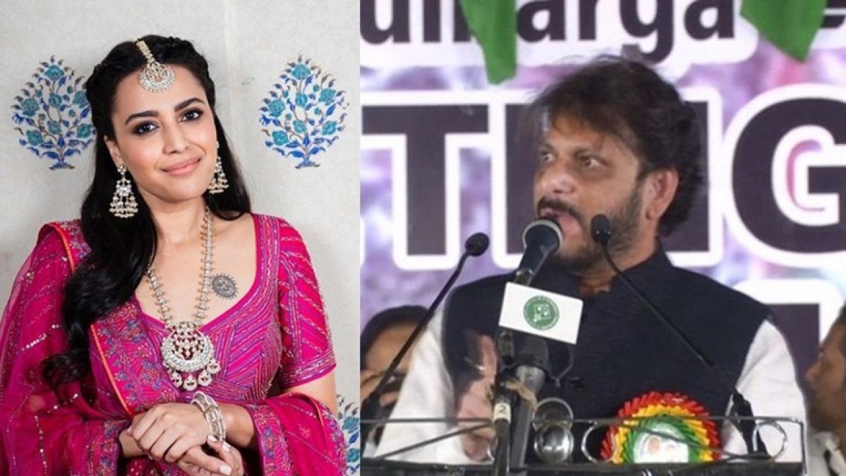 'Baith jaiye chacha': Swara Bhasker slams Waris Pathan's  15 crore Muslim statement