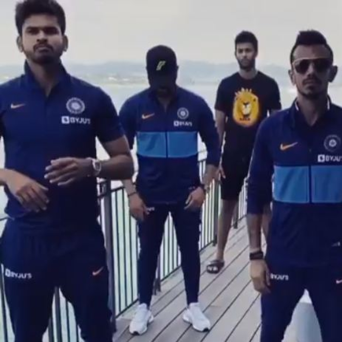 Watch Video: Yuzvendra Chahal and the boys groove to the beat