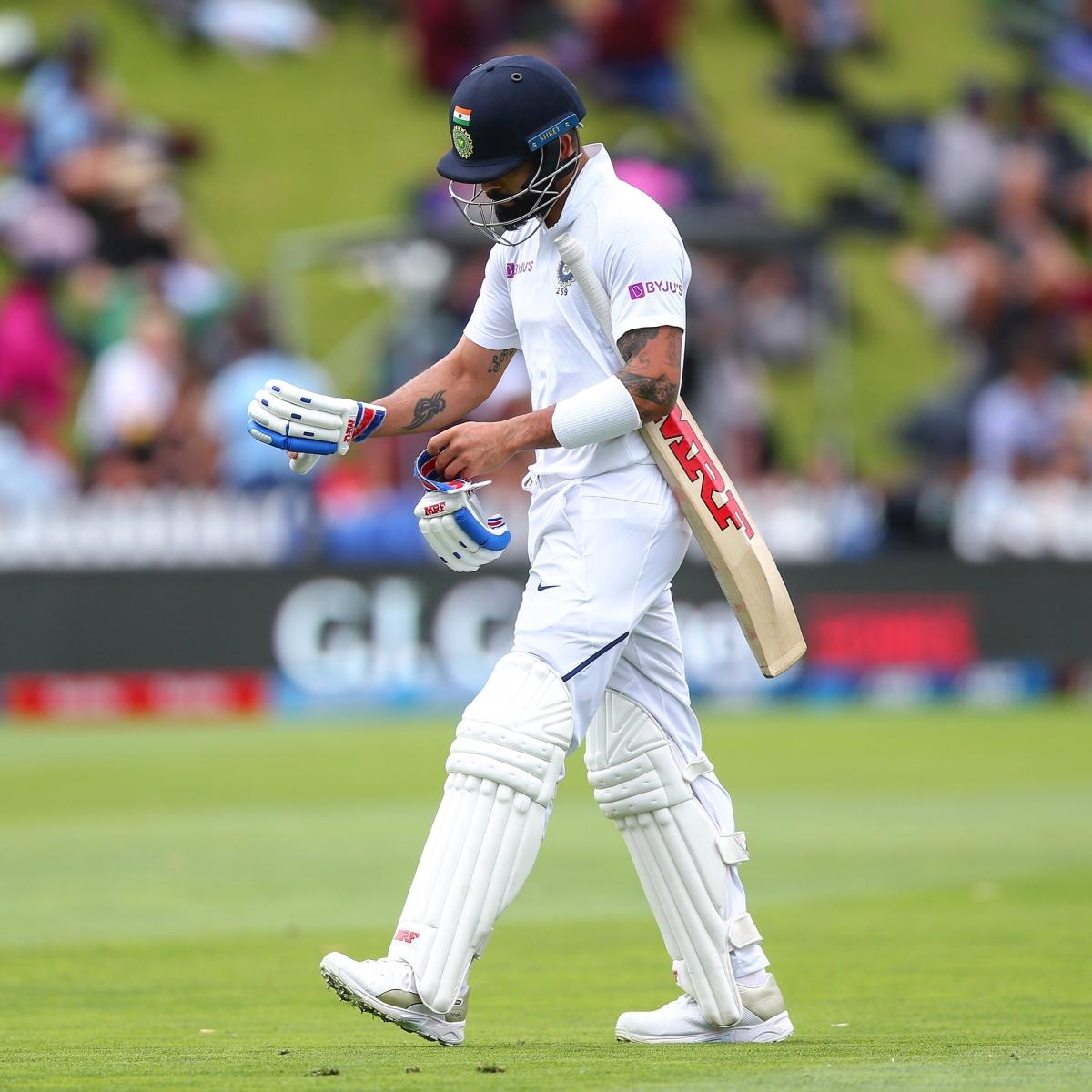 'These days Virat Kohli always beats my alarm clock': Twitter worried as skipper flops again against New Zealand
