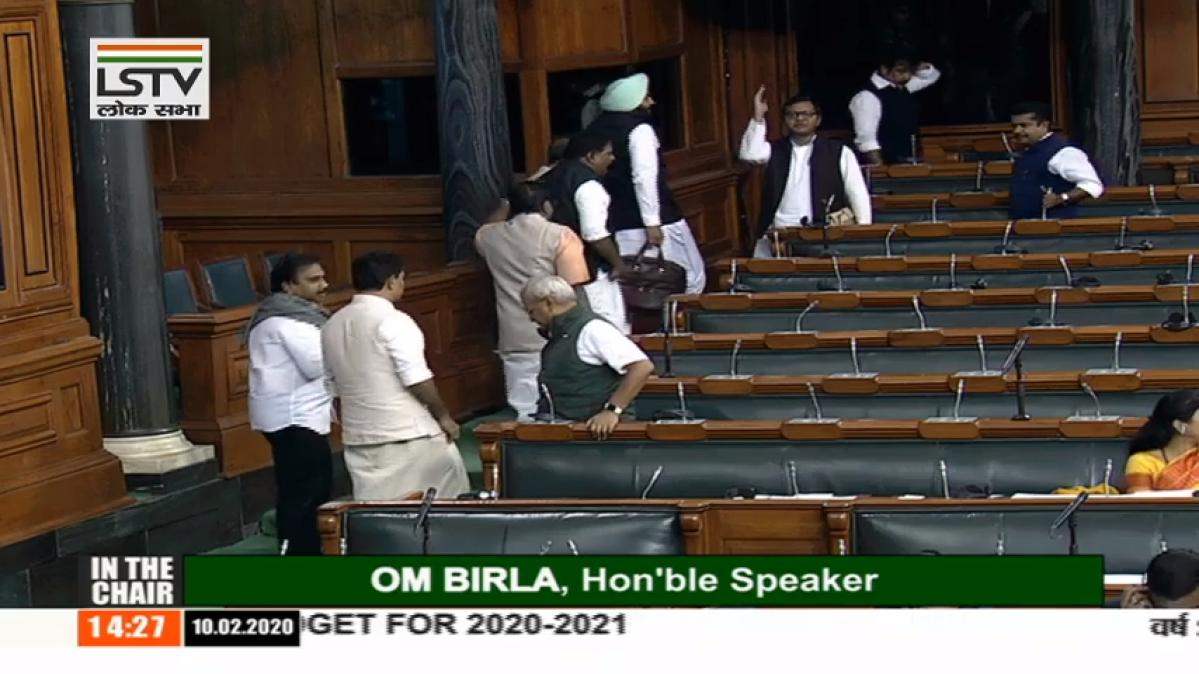 Parliament Updates - Congress MPs walk out of Lok Sabha