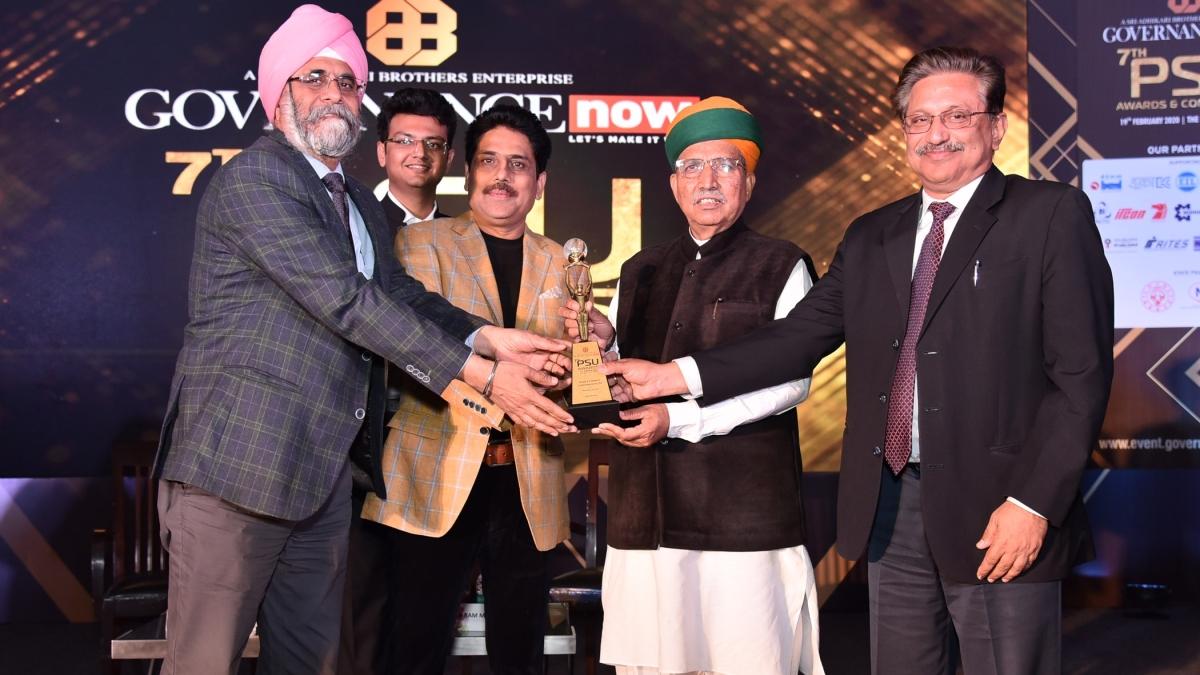 PFC bags 'Governance Now PSU Award'