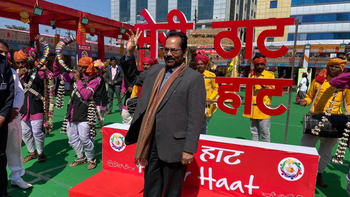 BJP hasn't put up 'no exit' board: Mukhtar Abbas Naqvi on Muslim leaders quitting party