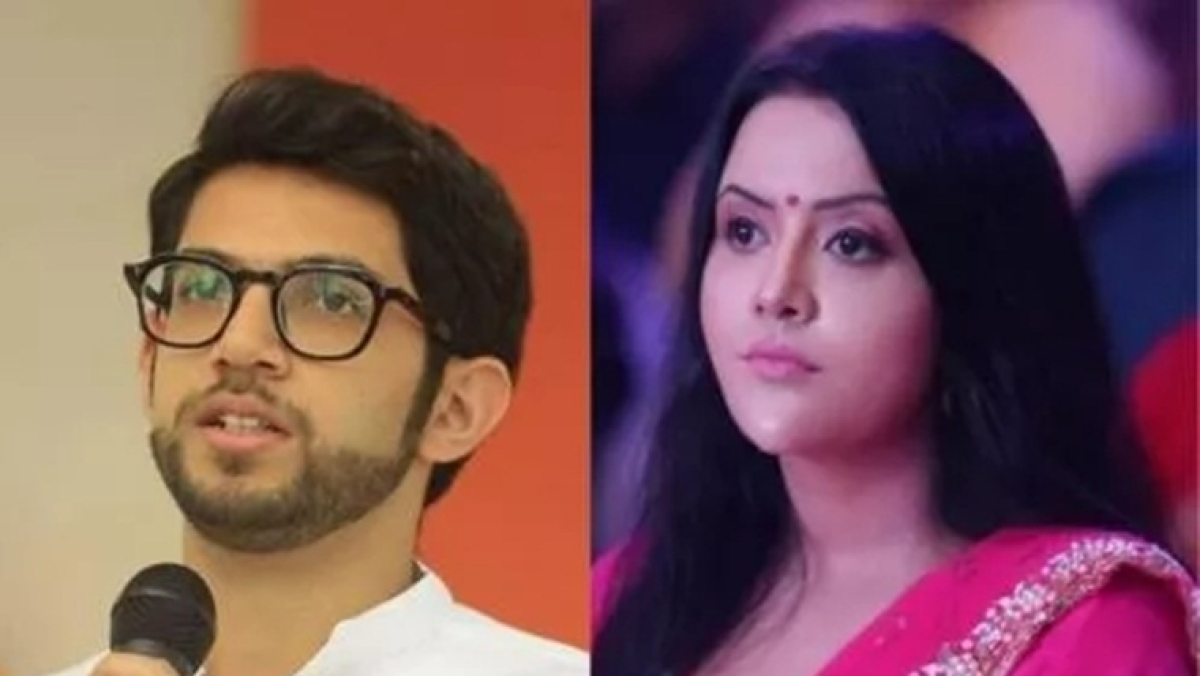 'Cocooned worm will never understand the 'Pun' of life': Amruta Fadnavis lashes out at Aaditya Thackeray