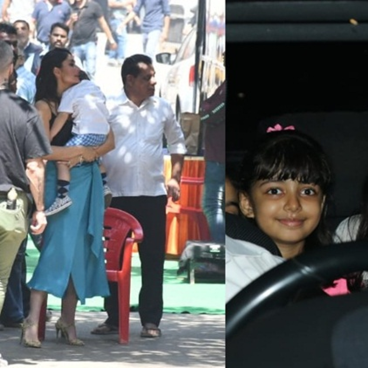 In Pics: Kareena Kapoor - Taimur Ali Khan, Aishwarya Rai - Aaradhya Bachchan spotted in town