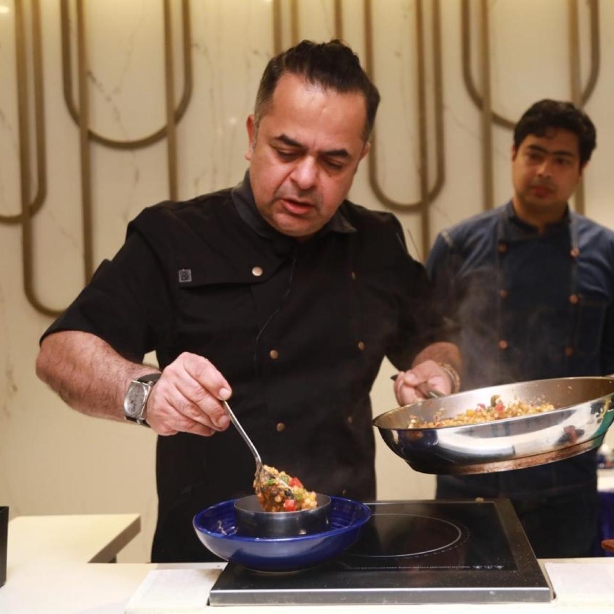 Creativity is soul of a chef: Celebrity chef Vicky Ratnani