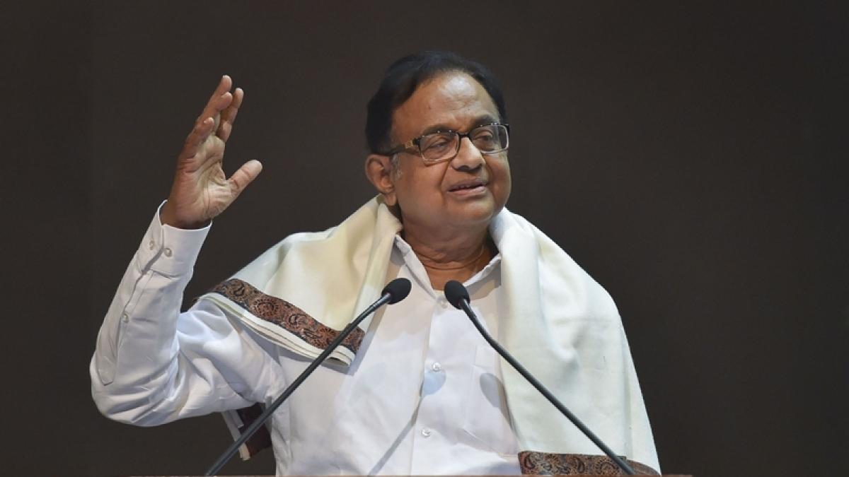 (PTI Photo) Chidambaram