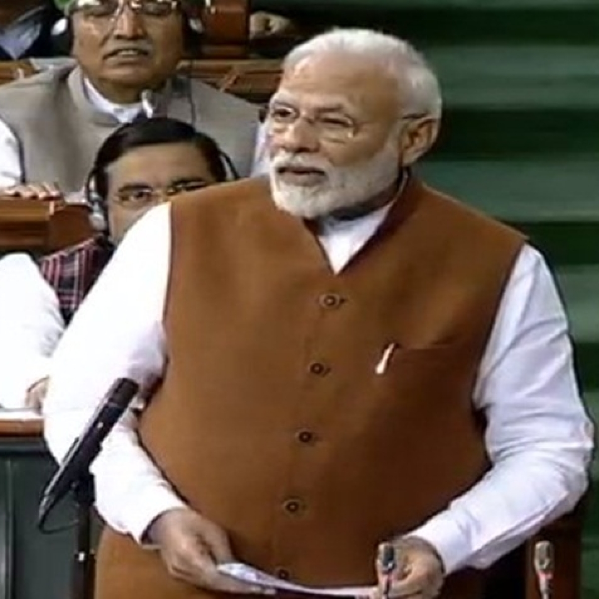 Parliament Updates - Someone divided India to become PM: Narendra Modi