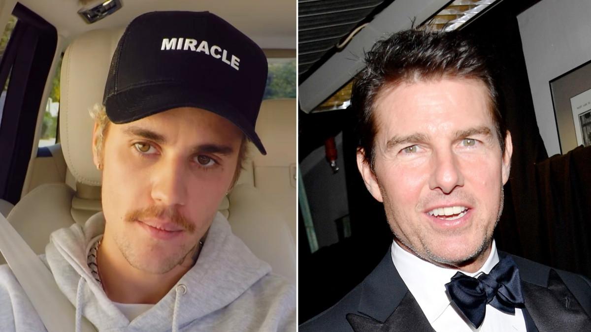 Justin Bieber &  Tom Cruise
