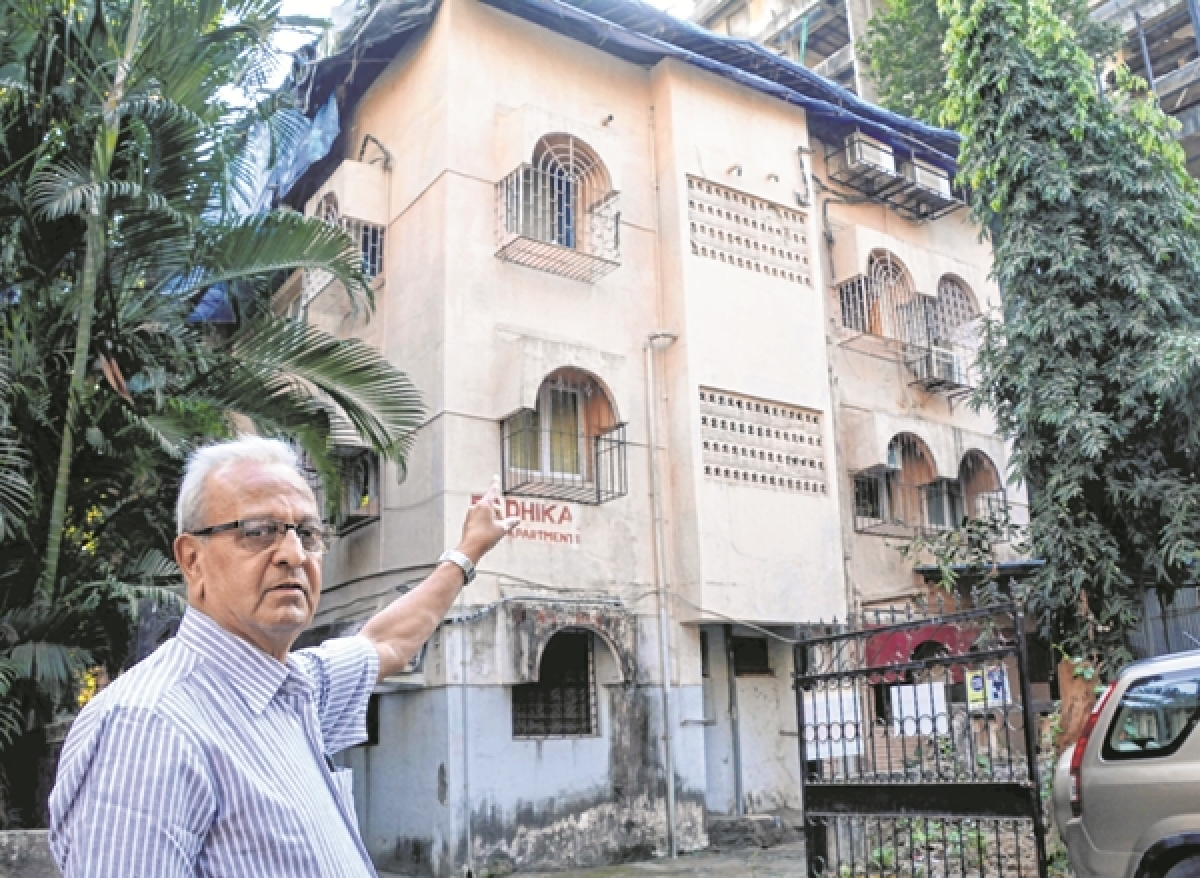 Redevelopment of building in Army buffer zone in Juhu stalled for years