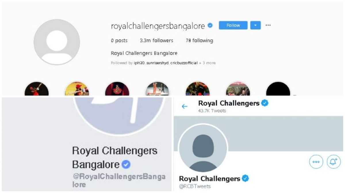 'RCB hacked?': Twitter in disarray as Royal Challengers Bangalore deletes profile photo from social media