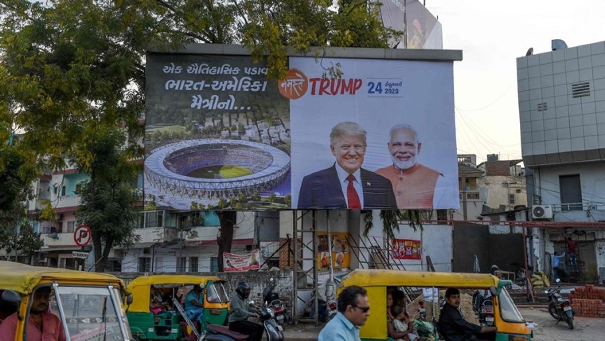 Donald Trump Nagrik Abhinandan Samiti -- the unknown group organising Ahmedabad's 'Namaste Trump' event